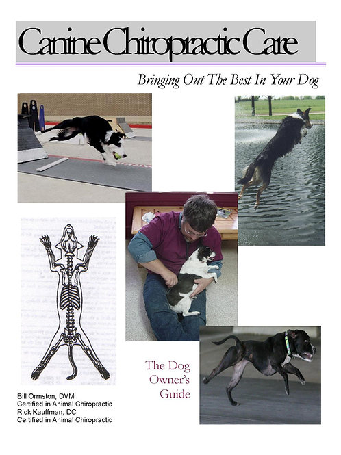 Best Canine Chiro Book (100 Copies)