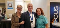 Dr. Hugo, Dr. Amy and Judy Gibson