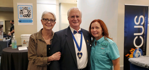 Dr. Hugo, Dr. Amy and Judy Gibson