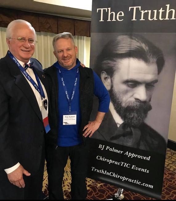 Dr. Hugo Gibson & Tony Seymour