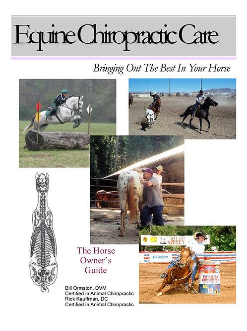 Best Equine Chiro Book (100 Copies)