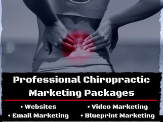 Chiropractic Marketing Packages