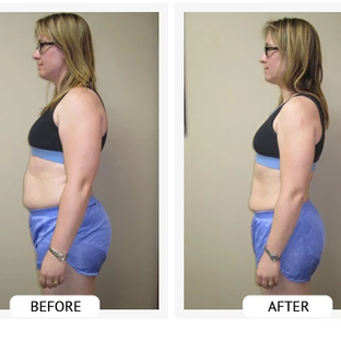 Kristen lost 32 lbs and 24.5 inches