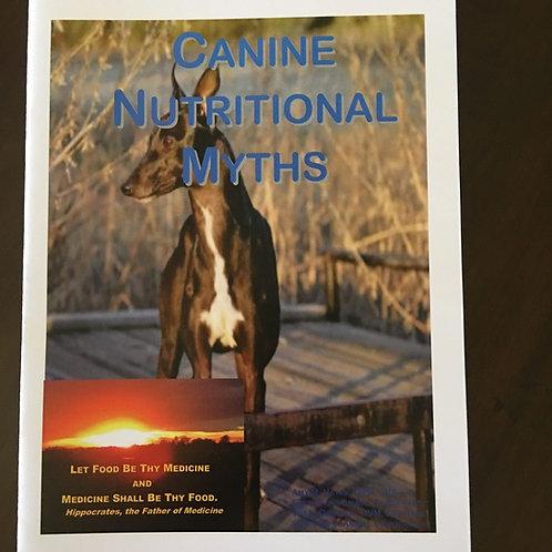 Canine Nutritional Myth Book