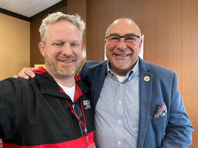 Tony Seymour & Dr. Neil Cohen