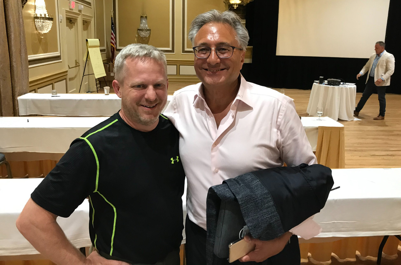 Dr. Peter Kevorkian adn Tony Seymour
