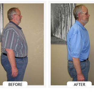 Bill has lost 160lbs & 72.5 inches