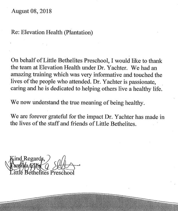 Little Bethelites Preschool Testimonial