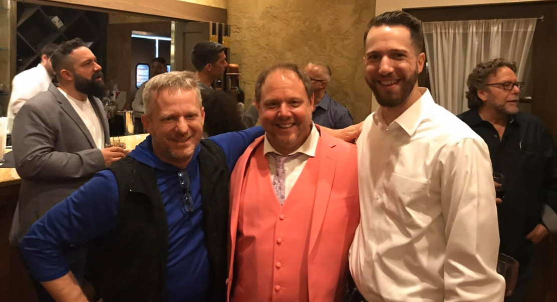 Dr. Hudak, Dr. Casey Pride, Tony Seymour