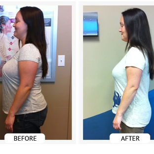 Angelica lost 26 lbs and 24 inches