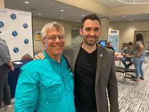 Dr. Bill and Dr. Alex Vidan