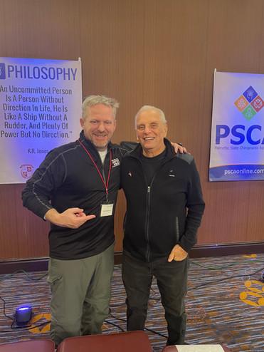 Dr. Ernie Panza & Tony Seymour