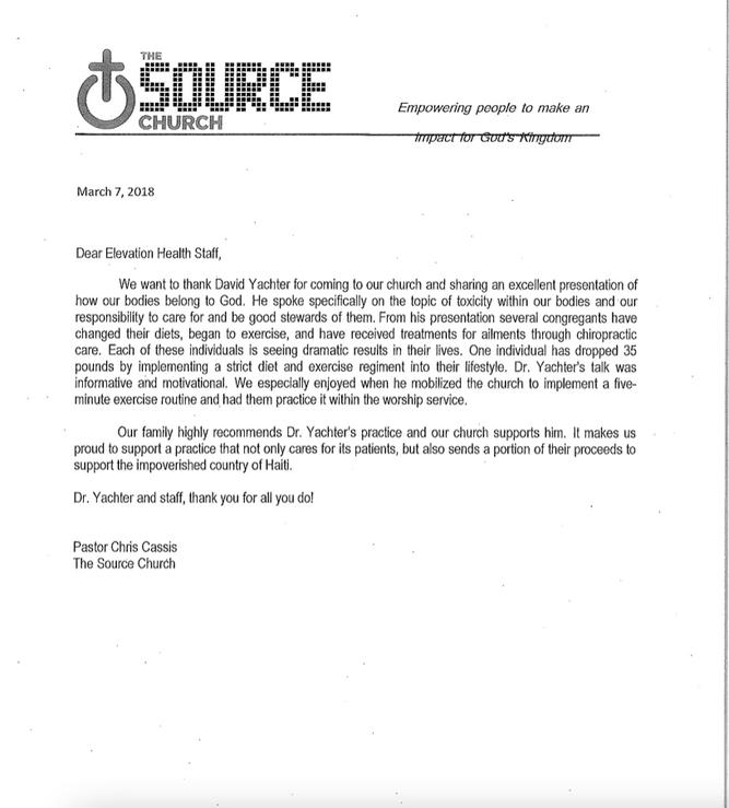 Source Church Testimonial