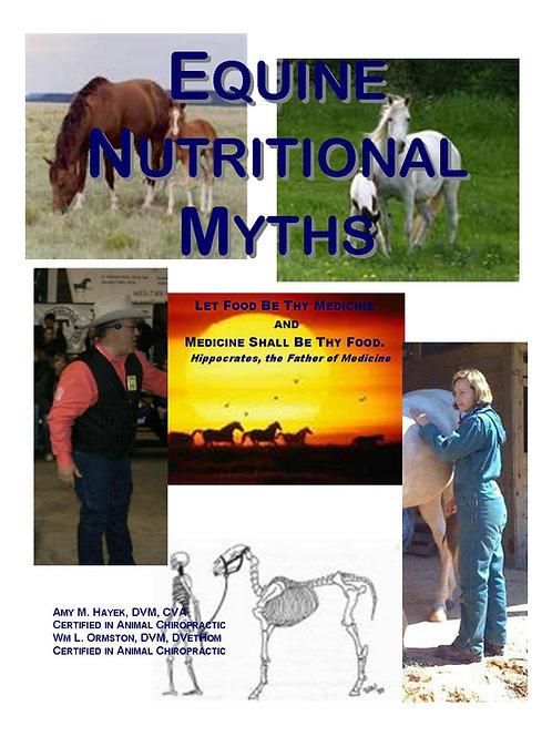 Equine Nutritional Myth Book