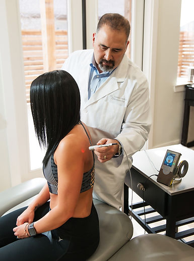 Helton Chiropractic Laser Pain Therapy, Laser Pain Therapy, Cold Light Laser