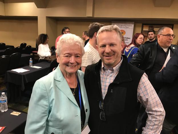 Dr. Gold & Tony Seymour