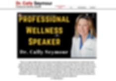 Professional Wllness Speaker, Chiroprctic Websites, Tony Seymour