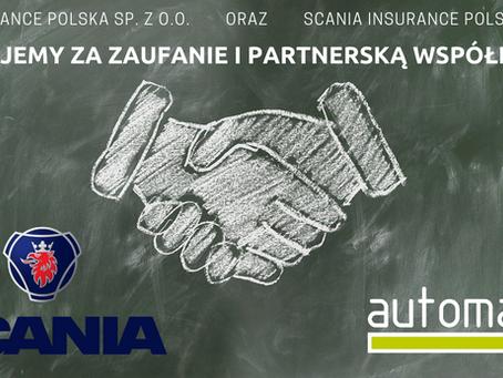 Scania Insurance Polska kolejnym klientem Automa Services