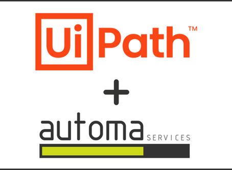 Partnerska współpraca UiPath i Automa Services
