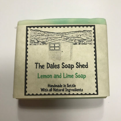 Lemon and Lime Soap approx 100g