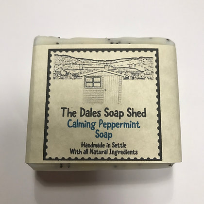 Calming Peppermint Soap approx 100g