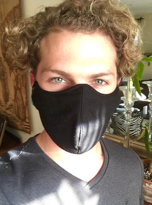 Wholesale Men's Black Mask