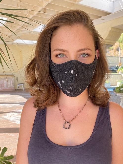 Charcoal Star Mask