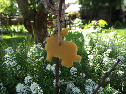 Bunny Cutout Ornament $2