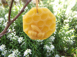 Honey bee ornament $2