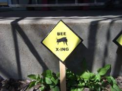 Bee Crossing Sign $5