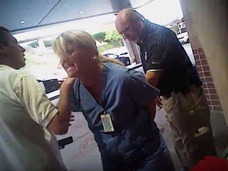 Salt Lake City Detective Fired Over Arrest Of Nurse.