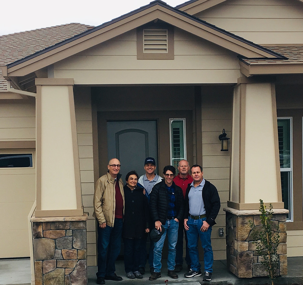 Sofya with the Sonoma County Builders team