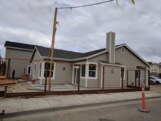 Sonoma County Builders proudly announces the completion of the first three fire-rebuild homes in Fou
