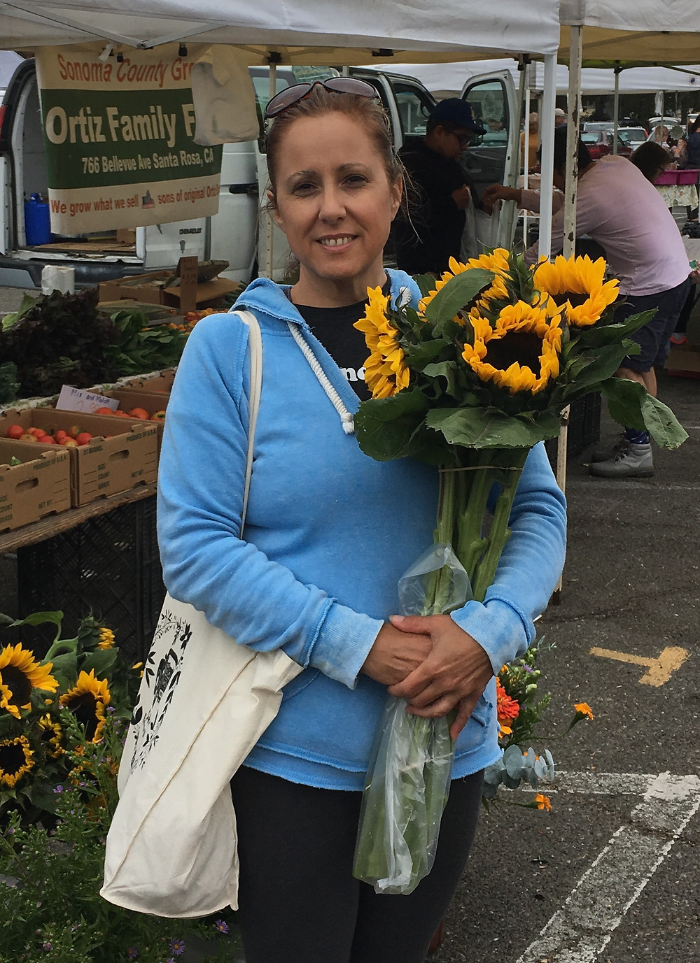 Scb attends farmers market. www.sonomacountybuilders.com