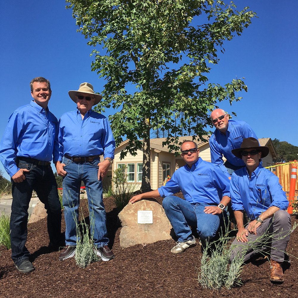 www.sonomacountybuilders.com tree dedication at Open House Fountaingrove 9.15.18