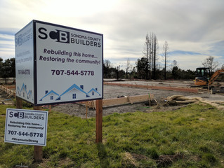 """Sonoma County Builders is the first contractor """"out of the ground"""" in the Miramonte Commun"""