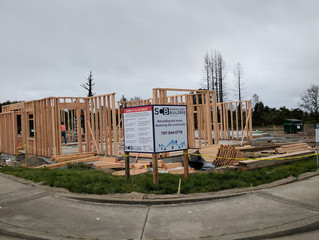 "Sonoma County Builders has ""walls up"" on second Miramonte Home!"