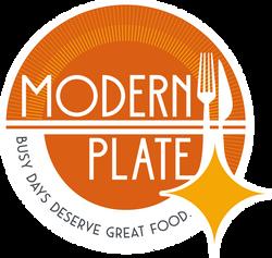 Logo Modern Plate Castle Rock
