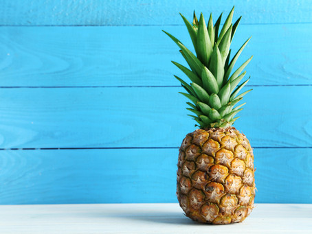A Sentiment of Friendship: Grilled Pineapple