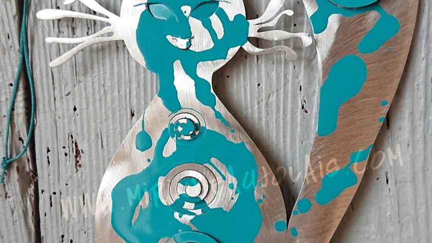 Carte Mobile Chat bleu I.AM.UNIQUE