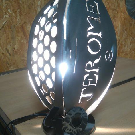 Un lampe ballon Rubgy