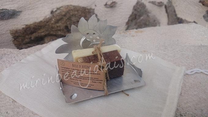 Porte-savon Duo Fleur Lotus