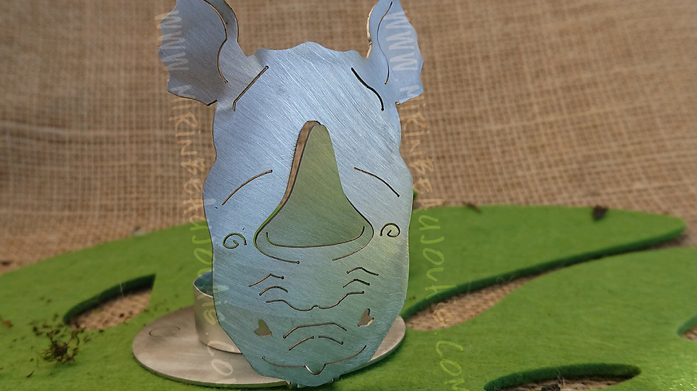 Photophore Rhinocéros#6