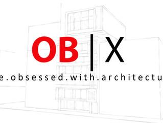 OB | X - be. obsessed. with. architecture