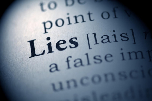 The Meaning of Lies