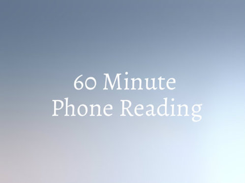 INTRODUCTORY 60+ Minute Psychic Phone Reading