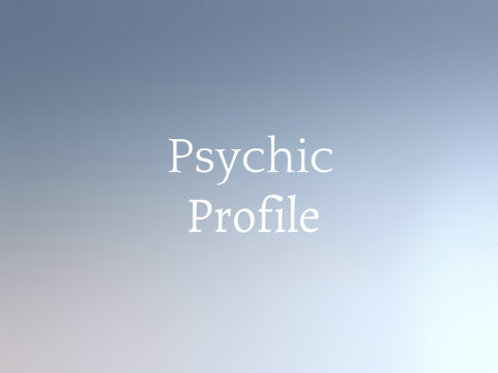 Psychic Profile