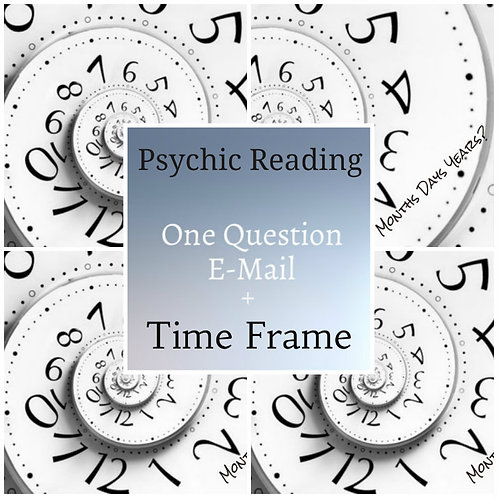 Question & Time Frame Psychic Reading Combo E-mail