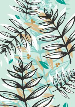 Illustration motifs nature