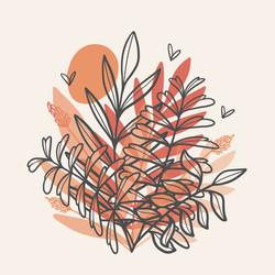 Illustration flore